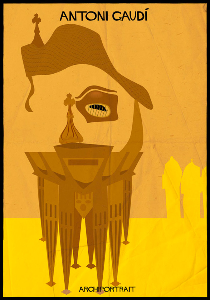 Read more about Federico Babina puts illustation and architecture together in a series of 33 mosaic-portraits