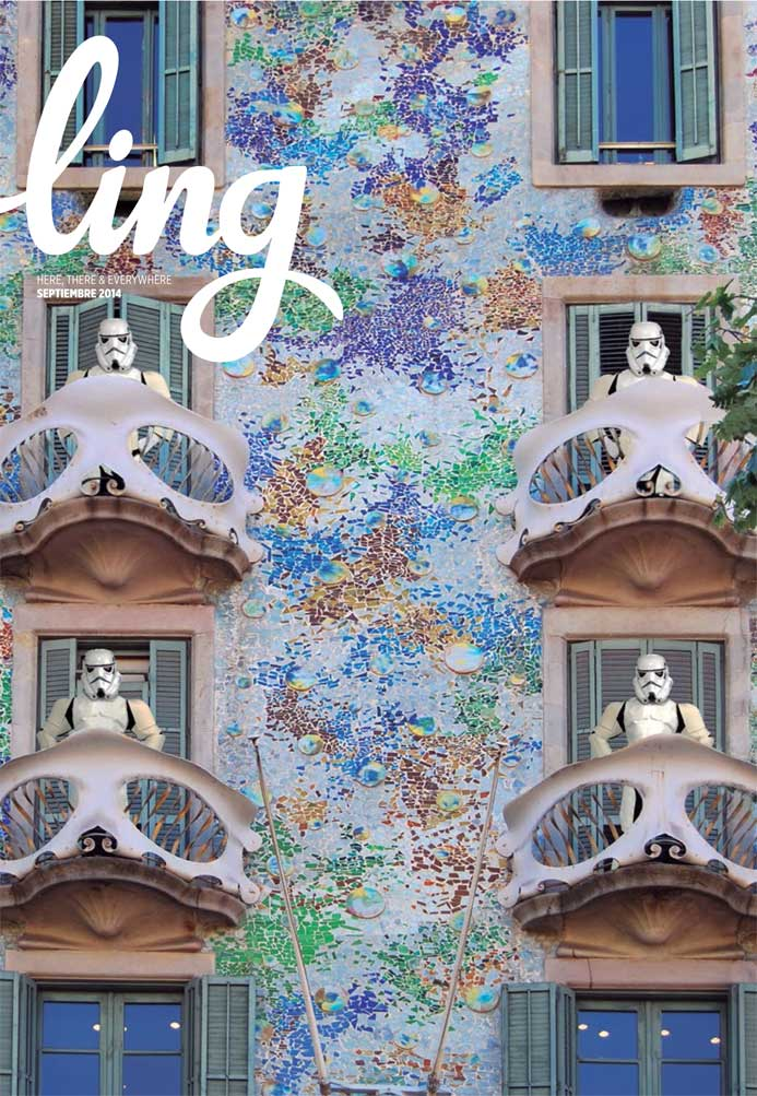 Read more about Star Wars soldiers sneaking around Casa Batlló's balconies