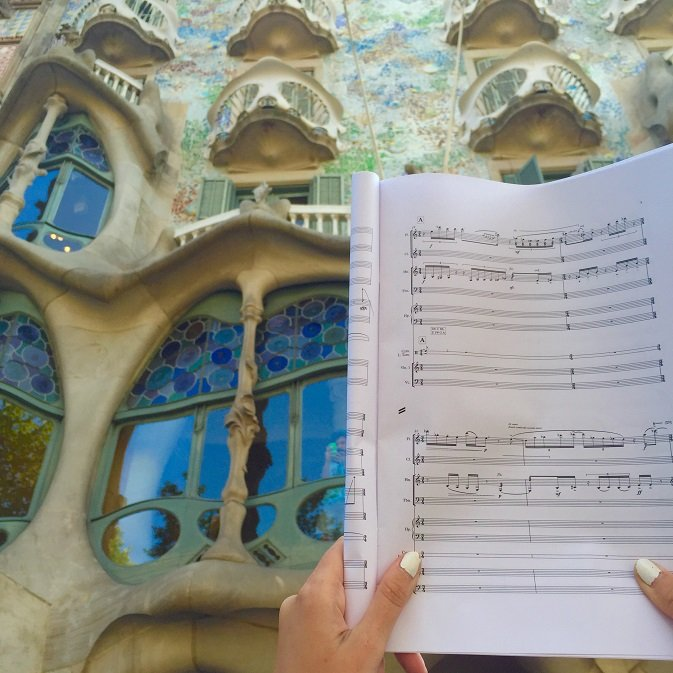 Casa Batlló as musical inspiration