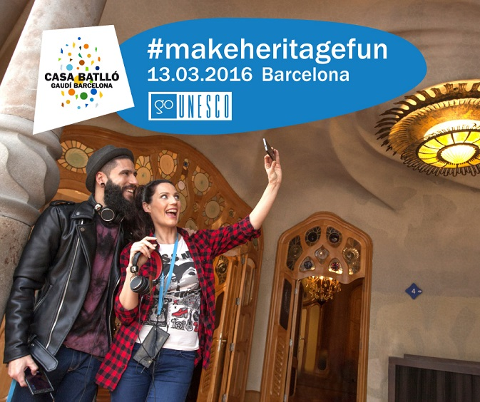 Casa Batllo joins the international event #MakeHeritageFun GoUNESCO