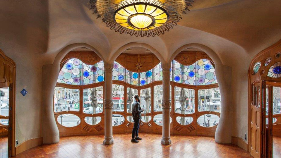 Be the first casa batll for Antoni gaudi opere