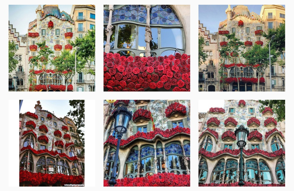 Read more about The roses from Casa Batlló flooded Instagram!