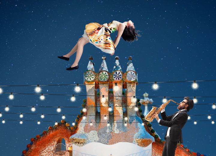 Magic Nights, night visit and live music on Casa Batlló's roof terrace